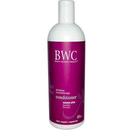Beauty Without Cruelty, Conditioner, Volume Plus 473ml