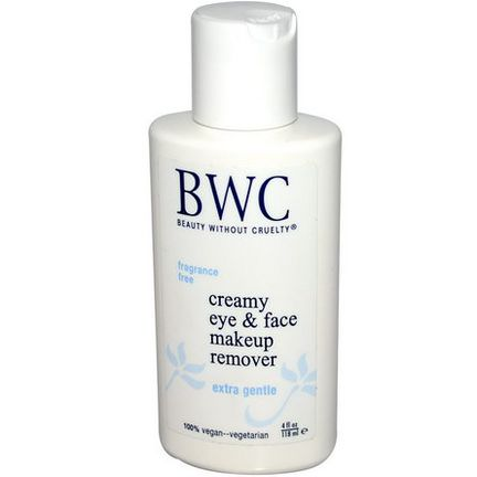 Beauty Without Cruelty, Creamy Eye&Face Makeup Remover 118ml