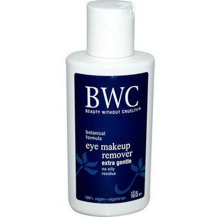 Beauty Without Cruelty, Eye Make-Up Remover, Extra Gentle 118ml