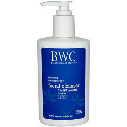 Beauty Without Cruelty, Facial Cleanser, 3% AHA Complex 250ml