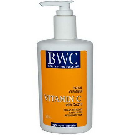 Beauty Without Cruelty, Facial Cleanser, Vitamin C, with CoQ10 250ml