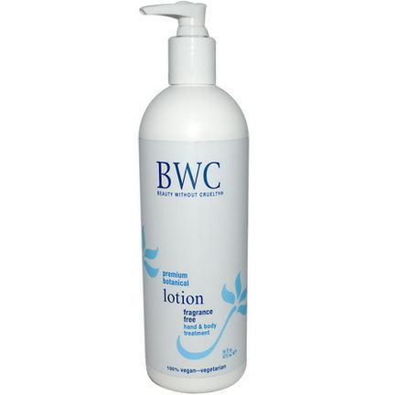Beauty Without Cruelty, Fragrance Free Lotion 473ml