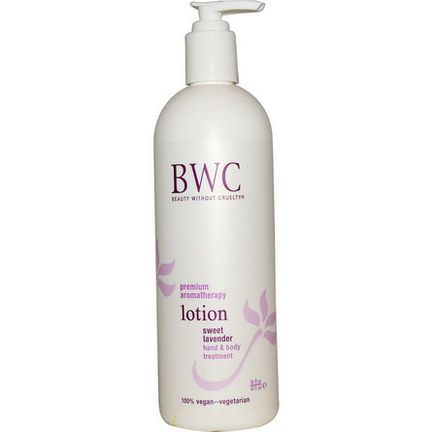 Beauty Without Cruelty, Lotion, Hand&Body Treatment, Sweet Lavender 473ml