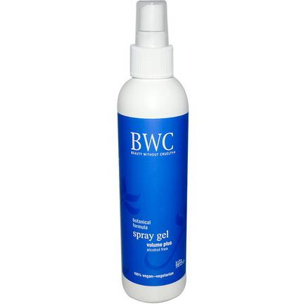Beauty Without Cruelty, Spray Gel, Volume Plus, Alcohol Free 250ml