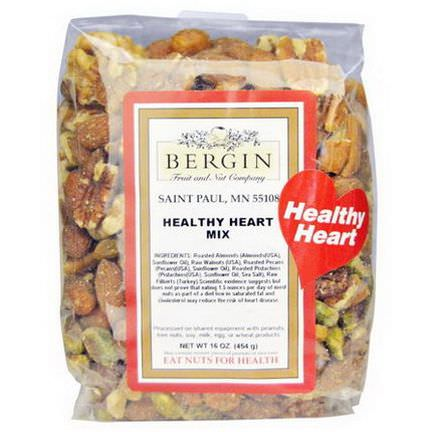 Bergin Fruit and Nut Company, Healthy Heart Mix 454g