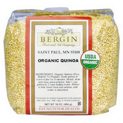 Bergin Fruit and Nut Company, Organic Quinoa 454g