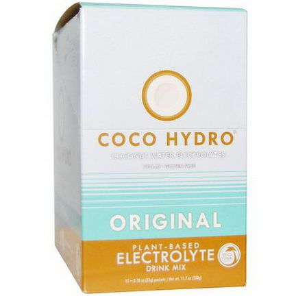 Big Tree Farms, Coco Hydro, Original, 15 Packets 22g Each