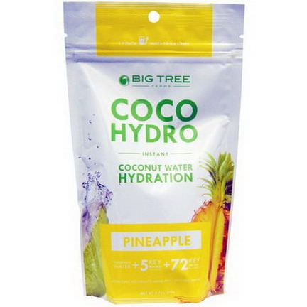 Big Tree Farms, Coco Hydro, Pineapple 275g