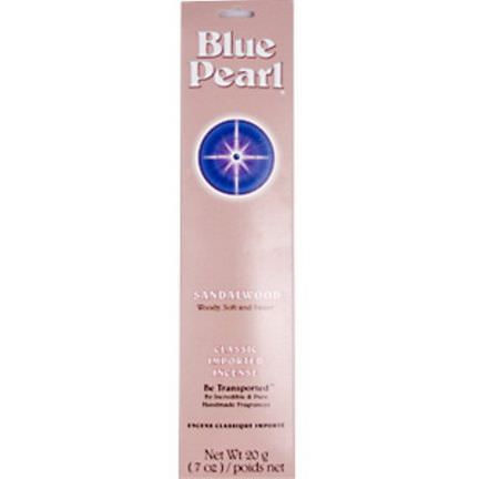 Blue Pearl, Sandalwood, Classic Imported Incense .7 oz