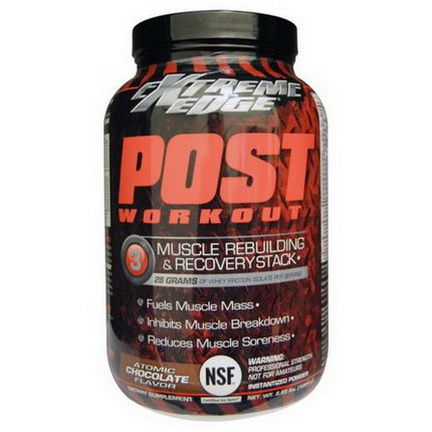 Bluebonnet Nutrition, Extreme Edge, Post Workout, Atomic Chocolate Flavor 1204g