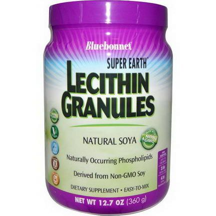 Bluebonnet Nutrition, Super Earth, Lecithin Granules 360g