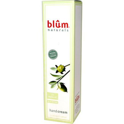 Blum Naturals, Hand Cream with Jojoba Oil 100ml