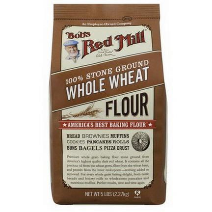 Bob's Red Mill, 100% Stone Ground Whole Wheat Flour 2.27 kg