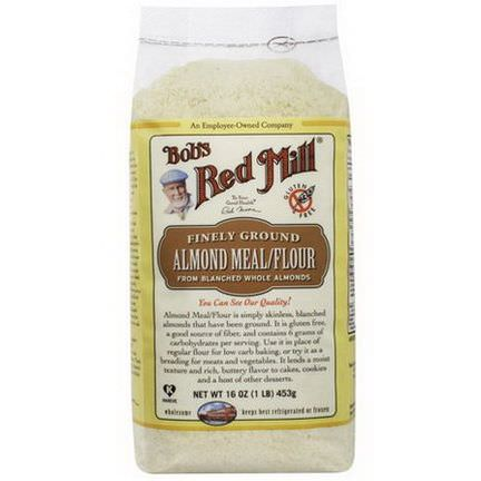 Bob's Red Mill, Almond Meal / Flour, Gluten-Free 453g