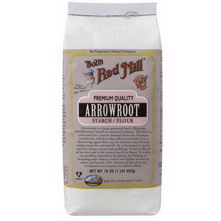Bob's Red Mill, Arrowroot Starch / Flour, 453g