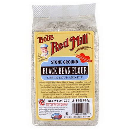 Bob's Red Mill, Black Bean Flour 680g