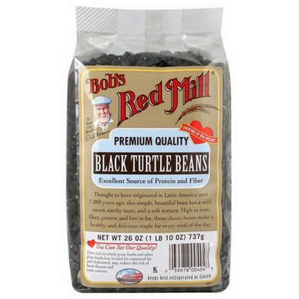 Bob's Red Mill, Black Turtle Beans 737g