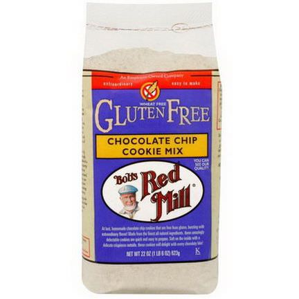 Bob's Red Mill, Chocolate Chip Cookie Mix, Gluten Free 623g