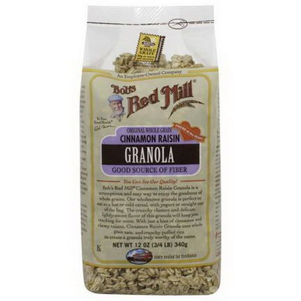 Bob's Red Mill, Cinnamon Raisin Granola 340g