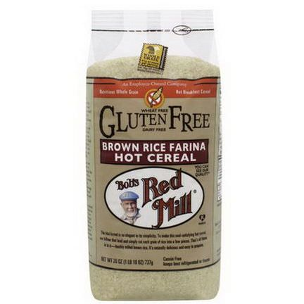 Bob's Red Mill, Creamy Rice, Brown Rice Farina, Hot Cereal 737g