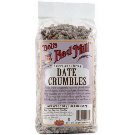 Bob's Red Mill, Date Crumbles 566g