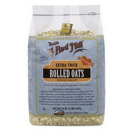 Bob's Red Mill, Extra Thick Rolled Oats 907g