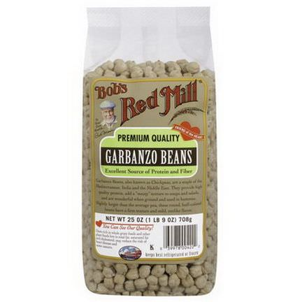 Bob's Red Mill, Garbanzo Beans 708g