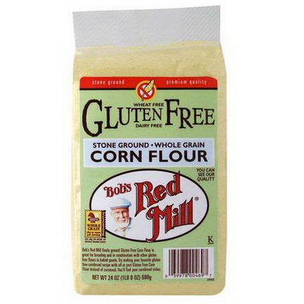 Bob's Red Mill, Gluten Free Corn Flour 680g