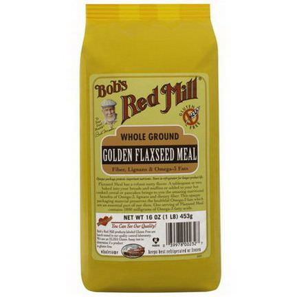 Bob's Red Mill, Golden Flaxseed Meal 453g