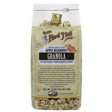 Bob's Red Mill, Granola, Apple Blueberry 340g