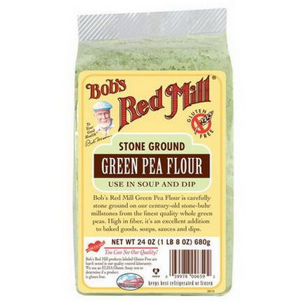Bob's Red Mill, Green Pea Flour 680g