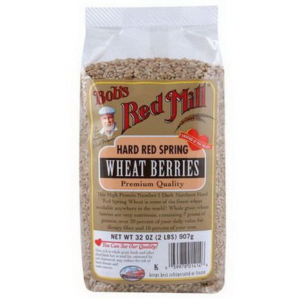 Bob's Red Mill, Hard Red Spring Wheat Berries 907g