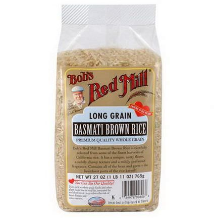 Bob's Red Mill, Long Grain Basmati Brown Rice 765g