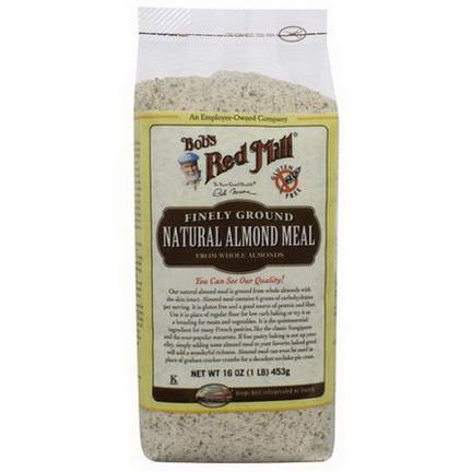 Bob's Red Mill, Natural Almond Meal, Finely Ground 453g