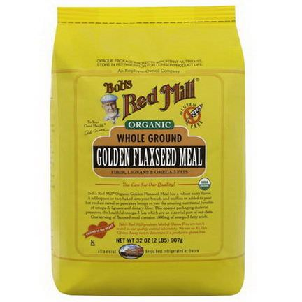 Bob's Red Mill, Organic, Golden Flaxseed Meal 907g