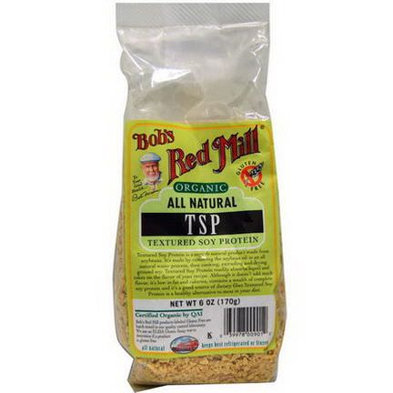 Bob's Red Mill, Organic, TSP, Textured Soy Protein 170g