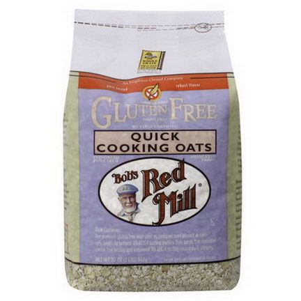 Bob's Red Mill, Quick Cooking Oats, Gluten Free 907g