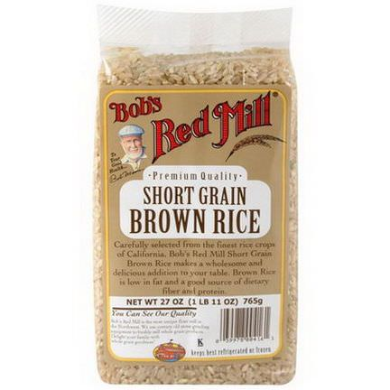 Bob's Red Mill, Short Grain Brown Rice 765g