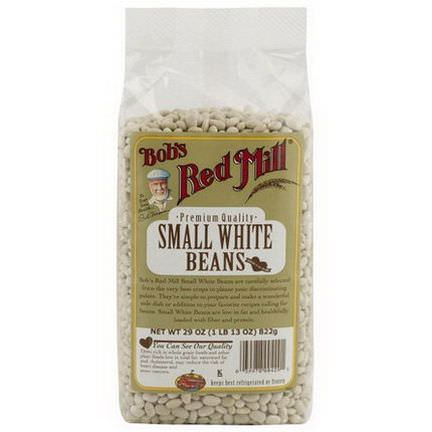 Bob's Red Mill, Small White Beans 822g