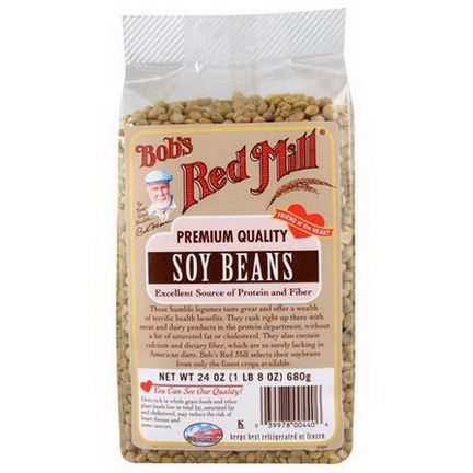 Bob's Red Mill, Soy Beans 680g