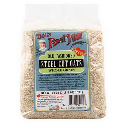 Bob's Red Mill, Steel Cut Oats 1.53 kg