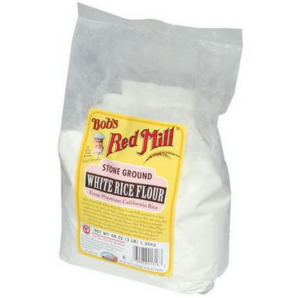 Bob's Red Mill, Stone Ground White Rice Flour, Gluten Free 1.36 kg