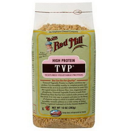Bob's Red Mill, TVP, Textured Vegetable Protein 283g