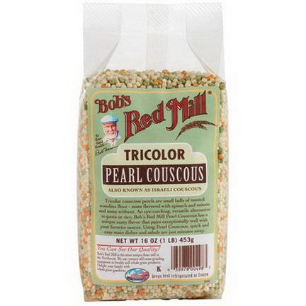 Bob's Red Mill, TriColor Pearl Couscous 453g