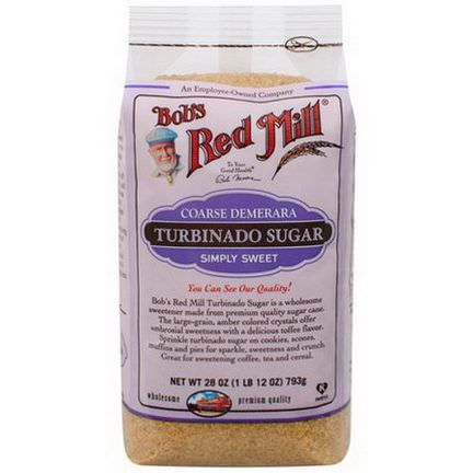 Bob's Red Mill, Turbinado Sugar 793g