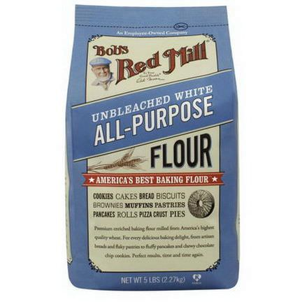 Bob's Red Mill, Unbleached All-Purpose White Flour 2.27 kg