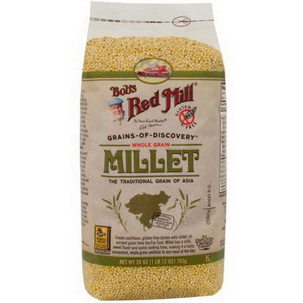 Bob's Red Mill, Whole Grain Millet 793g