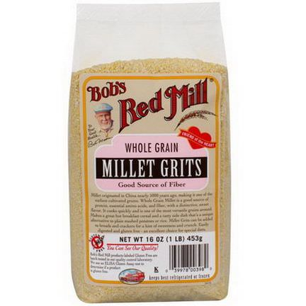Bob's Red Mill, Whole Grain Millet Grits 453g
