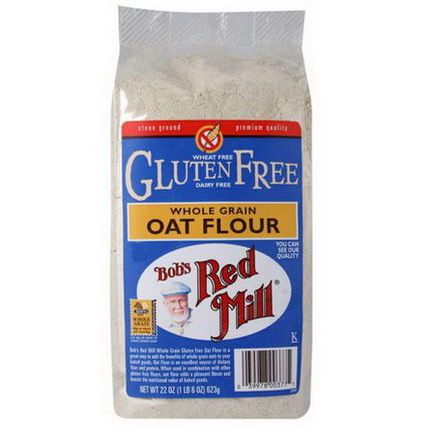 Bob's Red Mill, Whole Grain Oat Flour, Gluten Free 623g