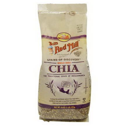 Bob's Red Mill, Whole Seed Chia 453g